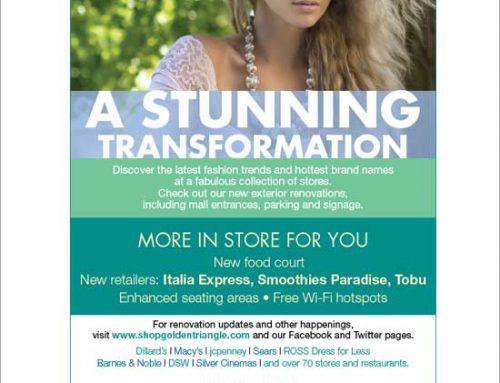 A STUNNING TRANSFORMATION