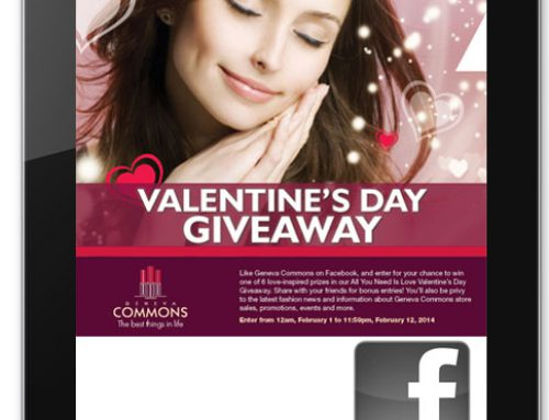 GENEVA COMMONS VALENTINE'S DAY GIVEAWAY